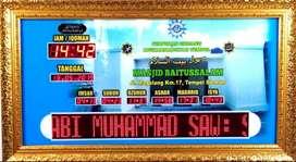 Jual Jam Digital Masjid Basarang Kapuas Kab.