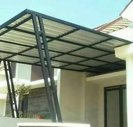 Melayani berbagai macam jenis atap kanopi