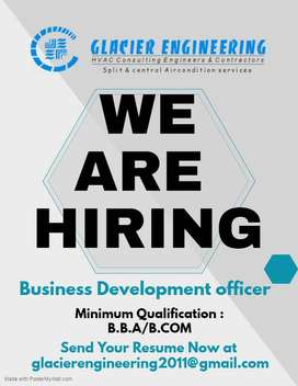 Required Business Development Officer