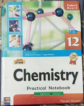 Star Chemistry Practical for 12 class