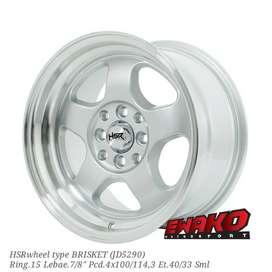 Brisket Sml R15 - HSRwheel Makassar Velg Mobil Racing Import