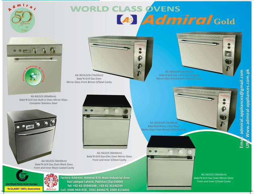 Gas Baking oven at factory price with warranty