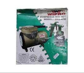 Kompresor Mini Set Air Mini Compressor Wipro 2 KD Baru