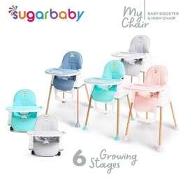 kursi makan bayi 6 posisi/ my chair sugarbaby /perlengkapan bayi jogja