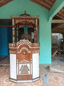 mimbar masjid kubah jati terkini 018