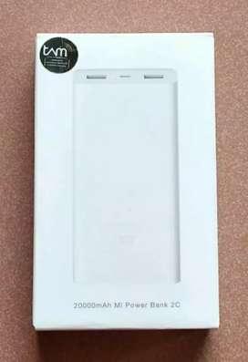 Xiaomi Mi2C PowerBank 20000mAh  QuickCharge 3.0 - Garansi Resmi TAM