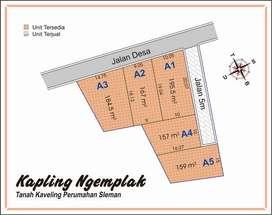 Tanah Perum  Area JL. Kaliurang KM 13 Promo Diskon 25% Sertipikat SHM