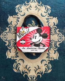 Totebag mickey mouse vintage 90th