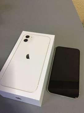 I-PHONE 11 WHITE COLOR