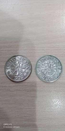 Koin Kuno 50 Sen