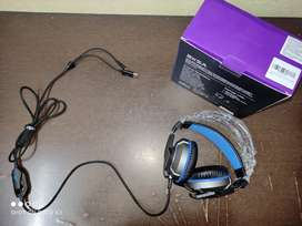 EKSA E800 WIRED GAMING HEADSET   WITH BLUE LIGHT