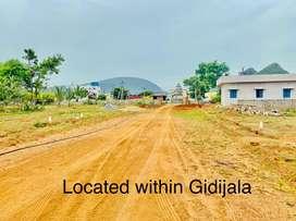 Layout within village near Gidijala