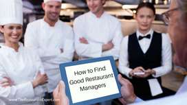 Required Restaurant Manager for Restaurant in Varanasi Location