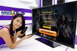 Indovision Mnc Vision Parabola mini langsung pasang aktif tayang