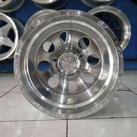 Velg Mobil Ring 15 Lebar 10 Untuk Jimmy Taff dll H5X139,7 SMF