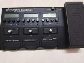 Zoom G3Xn Multi effects guitar processor