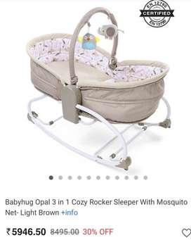 Babyhug Opul bed for infants