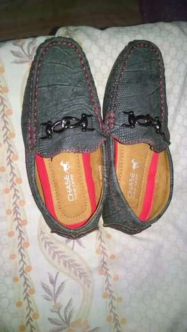 Chase brand new shoes