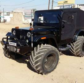 Big tyar z-black open jeep willys