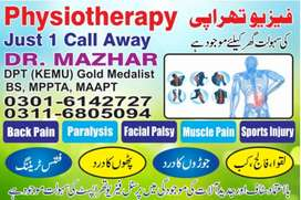 Physiotherapy at your home(all over the lahore)