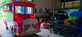 wahana odong kereta mini wisata mainan pancingan ikan magnet DCN