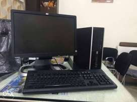 """Branded Used HP Core i3 2nd gen computer Set (8gb/1tb/dvd/19""""lcd) Warn"""