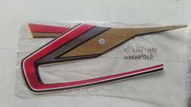 Striping RX King 1992 merah gold