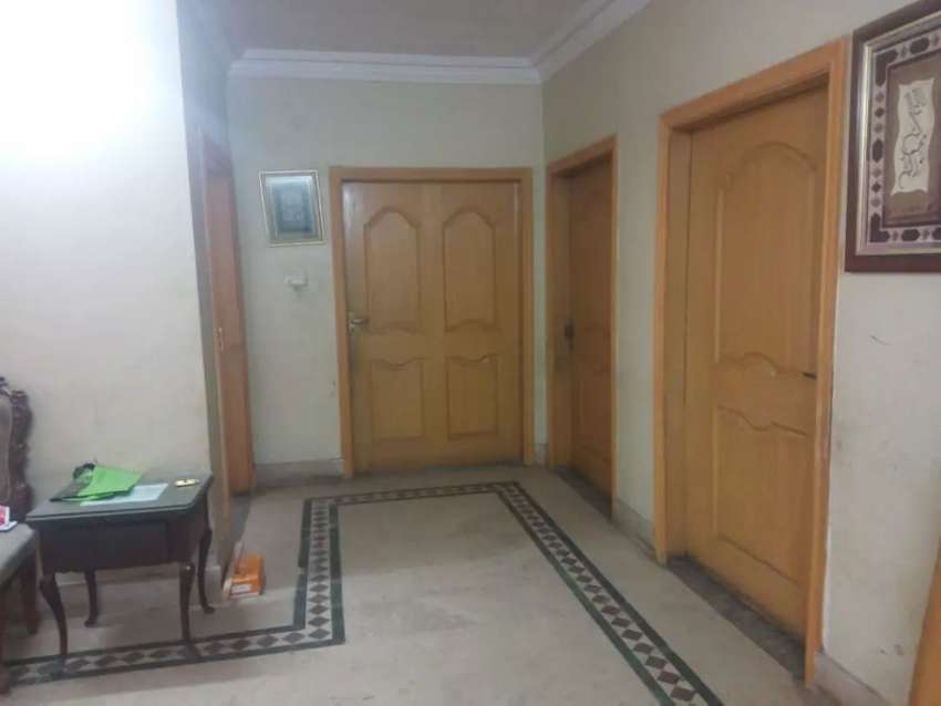 10 Marla Ground portion available for rent in Green Huts Bosan road 0