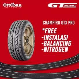 Jual ban mobil GT radial champiro GTX pro 205 50 R17.