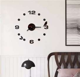 Jam dinding motif burung