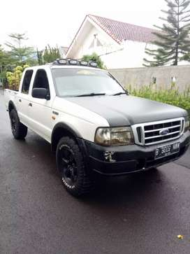 Ford ranger 4x4 double cabin manual 2004 diesel