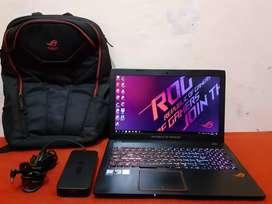 Asus ROG GL553VD i7-7700HQ RAM 16 SSD128 HDD 1TB GTX 1050 4 GB