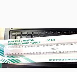 LINEX,Penggaris skala kualitas premium1:1:5:10:20:50:100:200:500