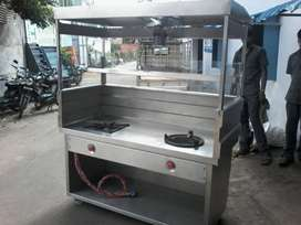 Brand New fast Food Steel Counters