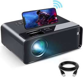ELEPHAS 2020 WiFi Movie Projector with Synchronize Smartphone Screen,
