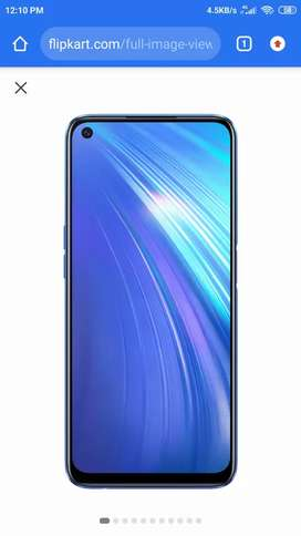 Realme 6 Rs 11000 New good condition.