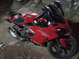 New racing spec bike
