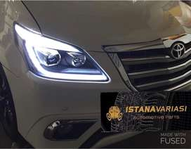 READY Headlamp Lampu depan Grand Innova Model Lexus double Projektor