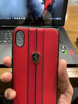 Leather cover for iphone xs max