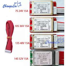 BMS 13s 48v 15amp Use in electric bike scooter and bicycle batterys