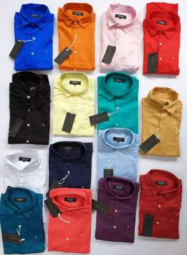 Stock lot shirts only for wholesalers