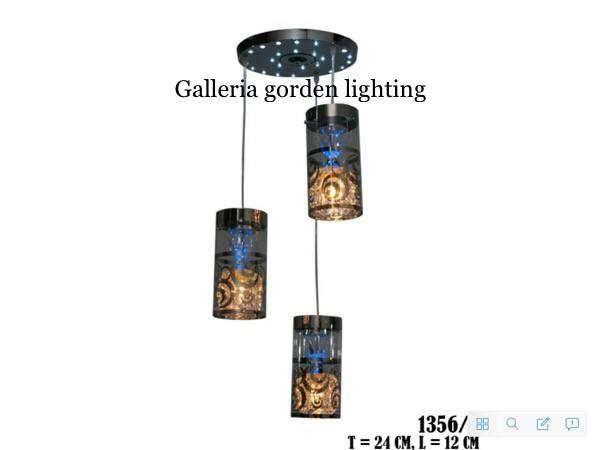 dekarasi lampu gantung meja makan minimalis 1356/3 ID72 0