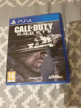 Ps4 game call of duty ghosta