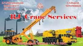 R J Crane Services For Hire & Rental Services