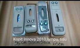 Kokpit tisiu dan lampu Innova