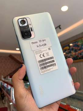 xiaomi note 10 pro 6/64 second super like new