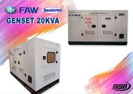 Genset FAW 20 KVA Silent