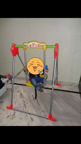 Multicolour Baby Swing (Indoor/Outdoor)