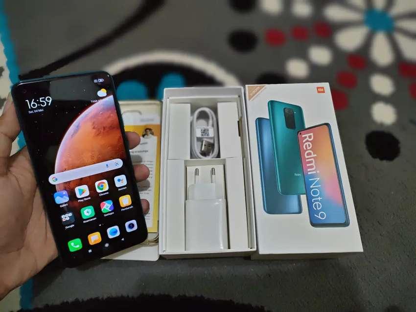 Redmi Note 9 6/128 Second Like New Super Mulus Garansi Resmi
