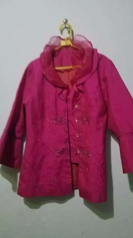 Kebaya modern pink